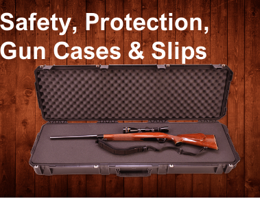 Safety, Protection, Gun cases & Slips